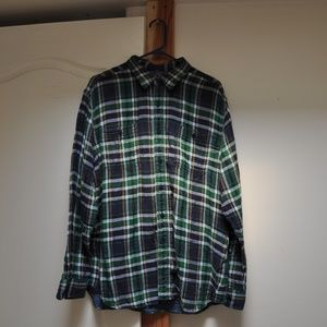 Long Sleeve Button Up Men's Shirt